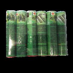 Цветные дымы, набор «ЗЕЛЕНЫЙ»,  6 шт,  (S-60 Gx6) - Фото 3