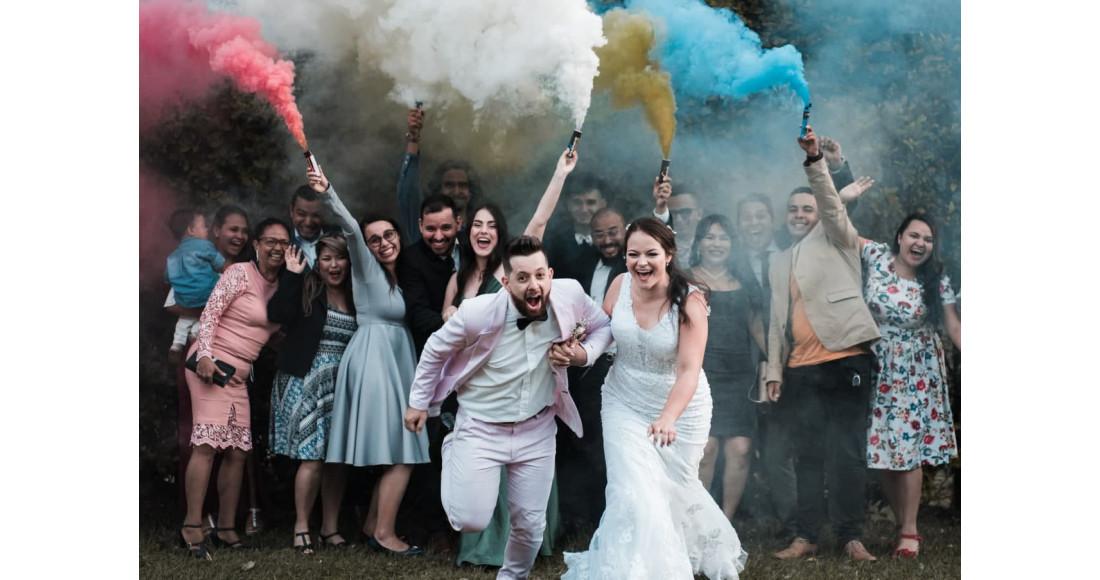 Феєрверк на весілля: гарантований вибух емоцій
