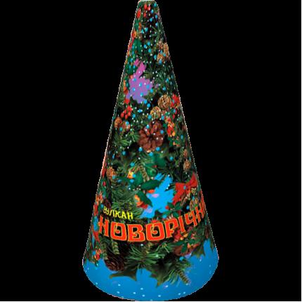 Новогодний (серебряный с треском) VK-3